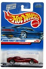 2000 Hot Wheels #70 First Edition Thomassima 3 full crd lace wheels