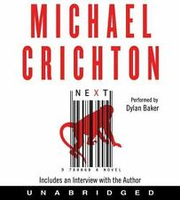 Next by Michael Crichton (2006, CD, Unabridged)