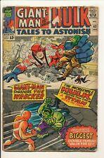 Tales To Astonish #63 Jan 1965 Marvel Hulk Giant-man Wasp Poor