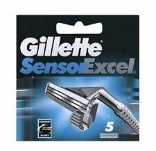 Gillette Sensor Excel Men's Razor Blade Cartridges Refills 5 Pack