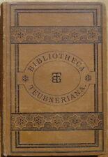 Bibliotheca Teubneriana thucydidis de bello Peloponnesiaco librerías Libro octo Vol. II