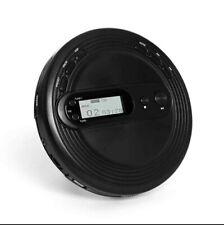 Round Portable Retro CD Player Stereo with FM Radio