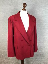 Womens Wool coat Size 18 Red