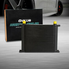 Gplus 30 Row 10An Universal Aluminum Engine Transmis​sion Oil Cooler Black