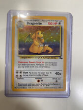DRAGONITE - Fossil Set - 4/62 - HOLO Rare - Pokémon Card - Unlimited Ed - FAIR