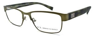 Armani Exchange AX1020 6092 Men's Eyeglasses Frames 54-17-145 Olive Gunmetal