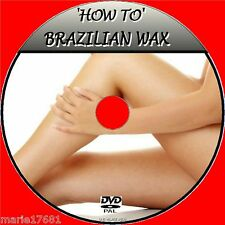BRAZILIAN WAX DVD STEP BY STEP TRAINING BY EXPERTS WAXING FOR BEGINNERS NEW DVD