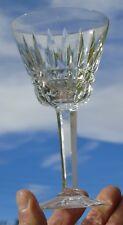 Val Saint Lambert - Verre à eau en cristal taillé, modèle Esneux Pied taillé