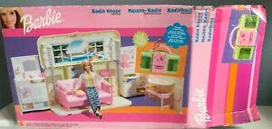Mattel Barbie Rare Rock 'N Roll Boom Box Fold Play House 2000 radio not working