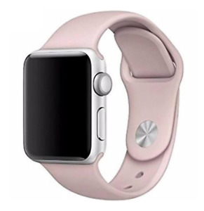 Original OEM Apple Watch Sport Band Rubber Pink Sand (S/M) (M/L) 38mm-42mm