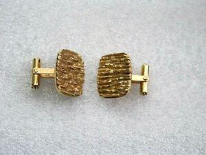 10K Yellow Gold Cufflinks Hand Made Samorodok 15.1gr. $360+ Scrap