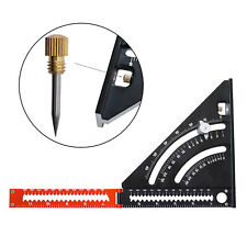 Triangle Ruler 90 Degree Square Angle Protractor Ruler Woodworking Engineer