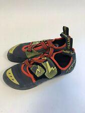 La Sportiva Men's Oxygym - Carbonsulphur - Size 42 Eu 9 Us