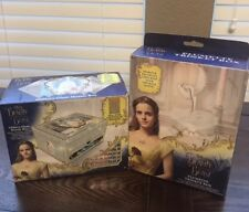 Disney Beauty And The Beast BUNDLE!!Includes: Mosaic Box And Trinket Box