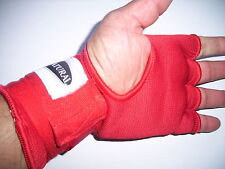 10x pairs EZY HAND WRAP GLOVE  - RED