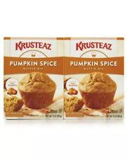 Krusteaz Pumpkin Spice Muffin Mix 15oz Pack of 2  EXP 1/22/20