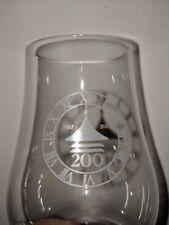 Glencairn Whisky Nosing Tasting Whiskey Glass Dufftown Bicentenary