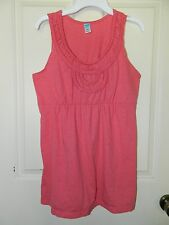 OLD NAVY MATERNITY Sleeveless CORAL TOP* S  Small