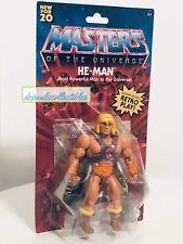 Masters of the Universe Origins HE-MAN 5.5? Figure MOTU Mattel 2020 New (wear)