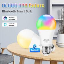 12W Bluetooth Smart led Light Bulb E27 LED RGB cct Lamp for Siri Dohome Control