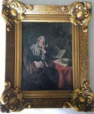antikes Bild ? Dösende Frau?, von Nicolaes Maes, 1634-1693
