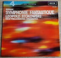 Berlioz Symphonie Fantastique Stokowski DECCA PFS 4160 Phase 4 Stereo