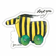 Janosch Tigerente Love You Sticker