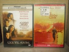 Good Will Hunting Dvd/What Dreams May Come Dvd .Robon Williams Dvd Lot.