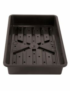 Rigid Plastic Seed Tray with Holes Heavy Duty Professional Strong Propagator