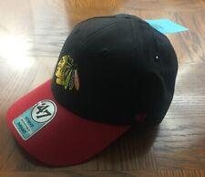 NWT - 47' Brand - NHL Chicago Blackhawks Hat Cap - INFANT Stretchback