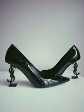 b09528bf65e Yves Saint Laurent Patent Leather Slim Heel Shoes for Women for sale ...