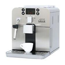 Gaggia Brera Super Automatic Espresso Machine in Silver. Pannarello Wand Frot...
