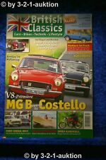 British Classics 4/14 Lotus Range Rover MG V8 Costello Ford Consul Mk II