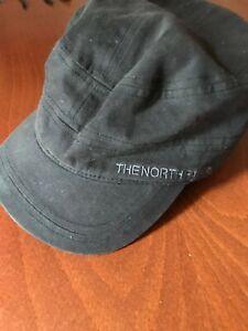 Black North Face Military Cap