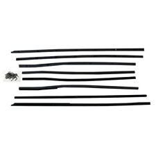 66-67 Fairlane Top Catwhiskers Window Felt Fuzzies WindowFelt Kit 2 Door Hardtop