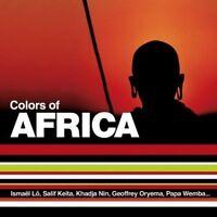 Colors of Africa Ismael Lo, Salif Keita, Khadja Nin, Geoffrey Oryema.. [CD]