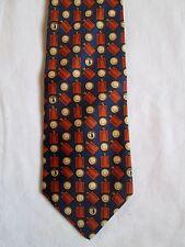 Cravate cravatte  TRUSSARDI 100% soie  TBEG  vintage