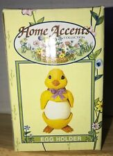 Two piece Easter Chick Egg Cup by Home Accents Easter Collectible