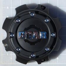 CAP-727B-8 / Gear Alloy Satin Black 8-Lug Center Cap