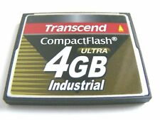 2GB / 4GB Compact Flash Card Industrial Ultra ( 2 GB / 4 GB CF  ) TRANSCEND