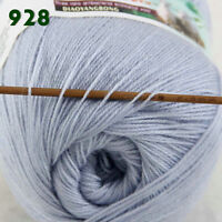 Sale 1 Skein x50gr LACE Soft Crochet Acrylic Wool Cashmere hand knitting Yarn 28