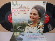 6580 069/133- INGRID HAEBLER- Mozart Piano Concertos 24/11 Schubert Sonatas 2-LP