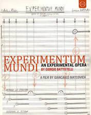 Giorgio Battistelli: Experimentum Mundi [Blu-ray], New DVDs