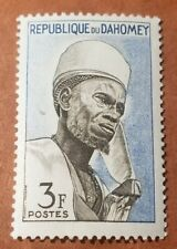 Dahomey #161 (A19) VF MNH - 1963 3fr Bariba Chief Of Nikki