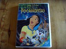 Como nuevo - DVD de la película  POCAHONTAS - Idioma inglés-
