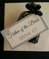 Father of the Bride Survival Kit | Father of the Bride Wedding Gift | Thank You