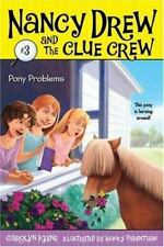 Pony Problems (Nancy Drew and the Clue Crew #3)-ExLibrary