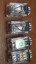 JOB LOT 4 x MK3P-5 OMRON Relè 6V AC 01X6W1 leggi vedi foto