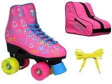 Epic Splash High-Top Indoor/Outdoor Quad Roller Skate 3 Pc. Bundle Size 07