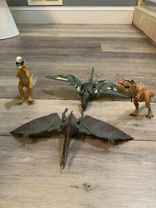 Jurassic World Hasbro 2015 Dinosaur Action Figures Lot